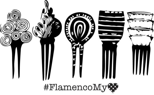 Combs Meeting Flamenco My Love Collection